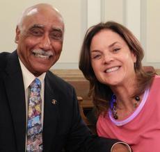 Dr. Lavizo and Denver Congresssmember Black